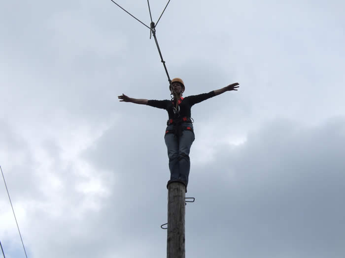 Pamper Pole 12m
